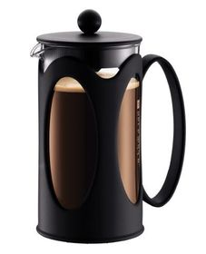 Bodum - Kenya Coffee Maker - 8 Cup - Black