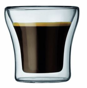 Bodum - Assam Double Wall Espresso Glass Set