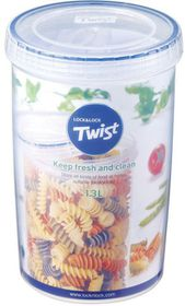 Lock and Lock - Round Twist Container - 1.3 Litre