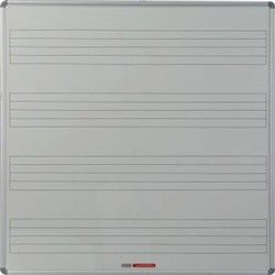 Parrot Educational Board Music 1230mm Magnetic White