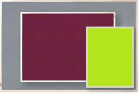 Parrot Info Board Plastic Frame 456mm - Lime Green