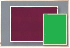 Parrot Info Board Plastic Frame 456mm - Green