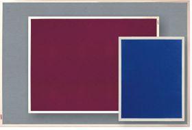 Parrot Info Board Plastic Frame 606mm - Burgundy