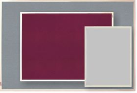 Parrot Info Board Plastic Frame 906mm - Light Grey
