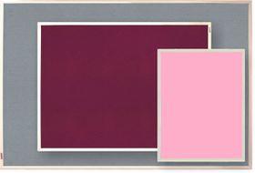 Parrot Info Board Plastic Frame 906mm - Pink