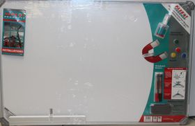 Parrot Slimline Magnetic Whiteboard (900x600mm)