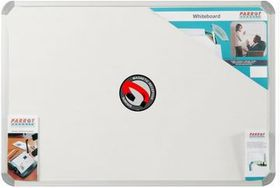 Parrot Whiteboard Magnetic - White 1000 x 1000mm