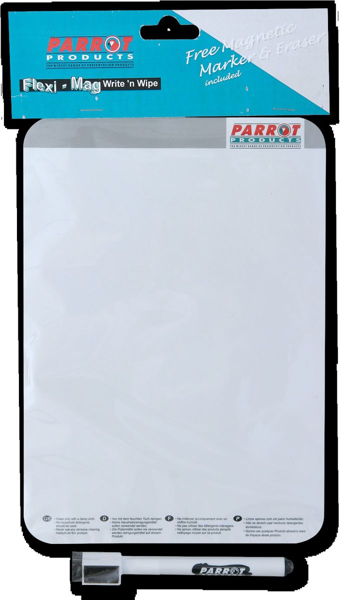Parrot Products Parrot Write \'n Wipe Flexible Magnetic A5 Plastic ...