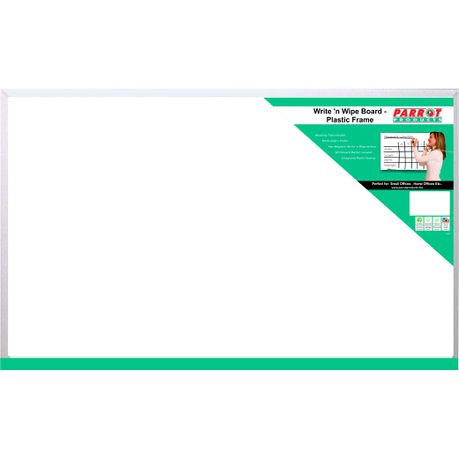 Parrot Write N Wipe Board With Plastic Frame 800 X 600mm Buy