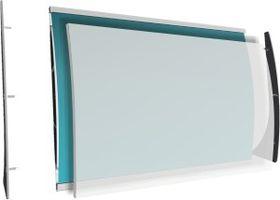 Parrot Sign Frame Desk Top Landscape - A4
