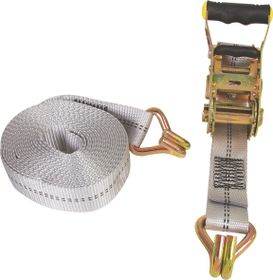 X-Strap - Quick Release Cam Buckle Tie Downs - Yellow (2.4M X 25Mm)