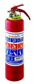 Safe-Quip - 1Kg Dcp Fire Extinguisher With Bracket - Red