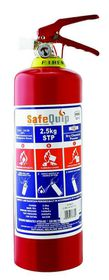 Safe-Quip - 2.5kg Dcp Fire Extinguisher With Bracket - Red
