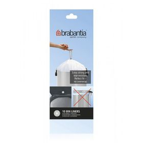 Brabantia - Bin Liner 50 Litre - Pack Of 10