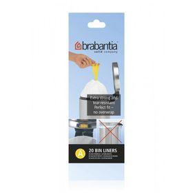 Brabantia - Bin Liner 3 Litre - Transparent