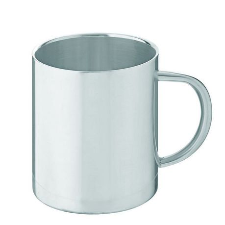 Leisure-Quip - 300Ml Ultimate Double Walled Coffee Mug - Stainless Steel