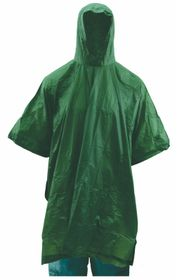 LeisureQuip - Emergency Poncho Or Raincoat - Green