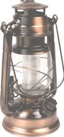 LeisureQuip - Antique Brass Lantern With Dimmer