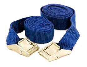 LeisureQuip - 2.5M Quick Release Tie Down Straps - Blue