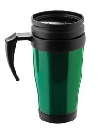 LeisureQuip - 400Ml Plastic Translucent Travel Mug - Green