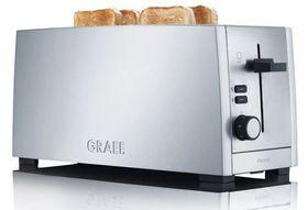 Graef - 4 Slice Toaster - Silver