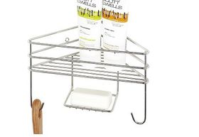 Steelcraft - Corner Shower Organiser - Single