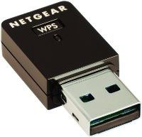 Netgear Wireless N-Micro 150Mbps USB Adapter - Black
