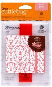 Cuttlebug A2 Embossing Folder & Border Anna Griffin - Brocade