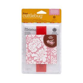 Cuttlebug Anna Griffin Embossing Folder & Border A2 - Blossom Dance