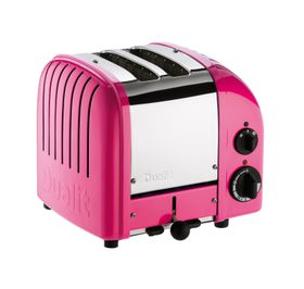 Dualit - 2 Slice Classic Toaster - Chilli Pink
