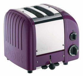 Dualit - 2 Slice Classic Toaster - Plum