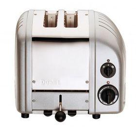 Dualit - 2 Slice Classic Toaster - Metallic Silver