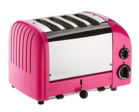Dualit - 4 Slice Classic Toaster - Chilli Pink
