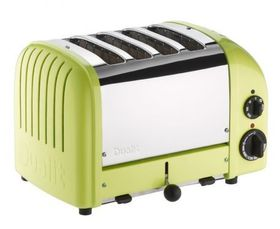 Dualit - 4 Slice Classic Toaster - Lime Green