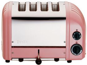Dualit - 4 Slice Classic Toaster - Petal Pink