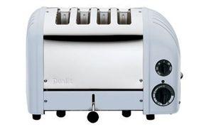 Dualit - 4 Slice Classic Toaster - Glacier Blue