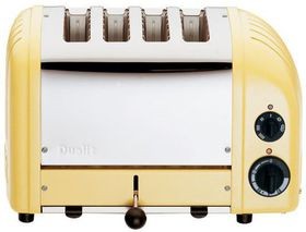 Dualit - 4 Slice Classic Toaster - Canary Yellow