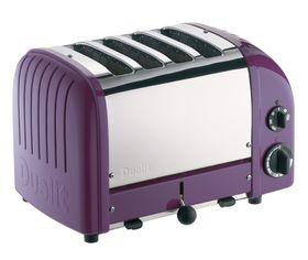 Dualit - 4 Slice Classic Toaster - Plum