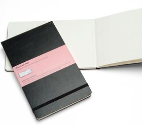 Moleskine Reporter Watercolour Black Large Notebook