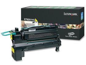 Lexmark X792X1YG Yellow Laser Toner Cartridge