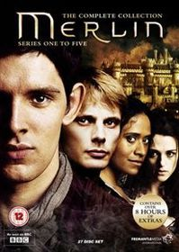 Merlin: The Complete Collection (Import DVD)