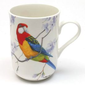 Maxwell and Williams - Eastern Rosellas Decal Mug - 300ml - White
