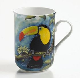 Maxwell and Williams - Katherine Castle Toucans Decal Mug - 300ml - Multi-Coloured