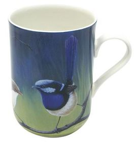 Maxwell and Williams - Katherine Castle Superb Fairy Wren Decal Mug - 300ml - Multi-Coloured