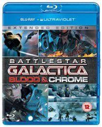 Battlestar Galactica Blood and Chrome (Import Blu-ray Disc)