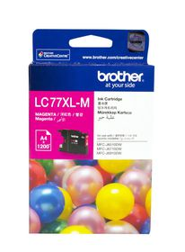 Brother LC77XL-M Magenta Ink Cartridge