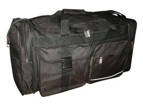 Elegant Duffle Sports Bag 709-70 black
