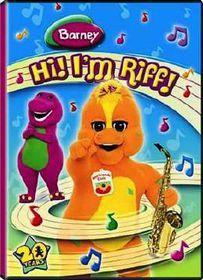 Barney: Hi I'm Riff (DVD)