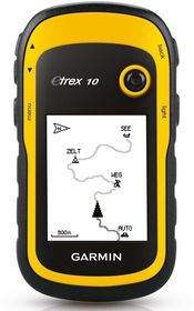 Garmin - eTrex 10 Handheld GPS (Yellow)