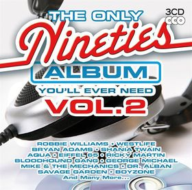 The Only Nineties Album You'll Ever Need - Vol.2 - Various Artists (CD)